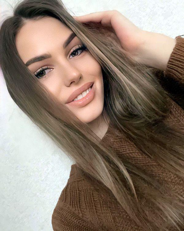 beautiful latvian woman